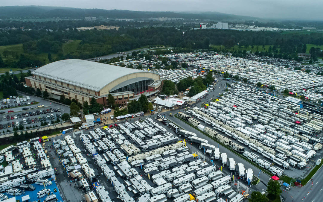 Mark Your Calendars For Next Year's RV Show!